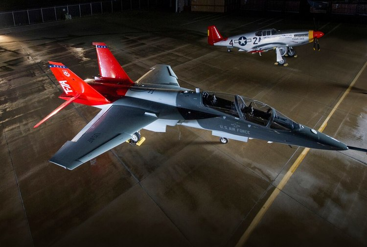 USAF Names New Trainer T-7A Red Hawk in Honor of Tuskegee Airmen
