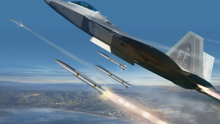 Raytheon Unveils New Air-to-Air Missile Design