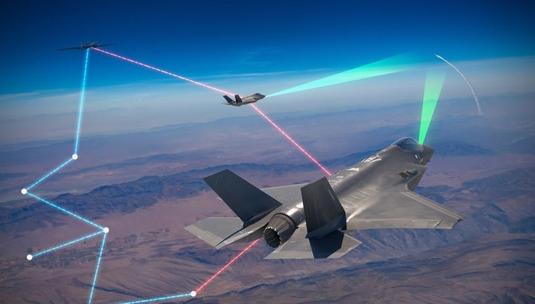 Lockheed's Skunk Works 'Project Riot' Demos F-35 Multi-Domain Ops