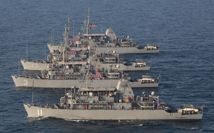 Chinese Mine Warfare Threatens U.S. Navy
