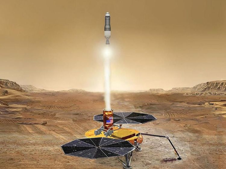 This Could Be the First Rocket Launched on Mars