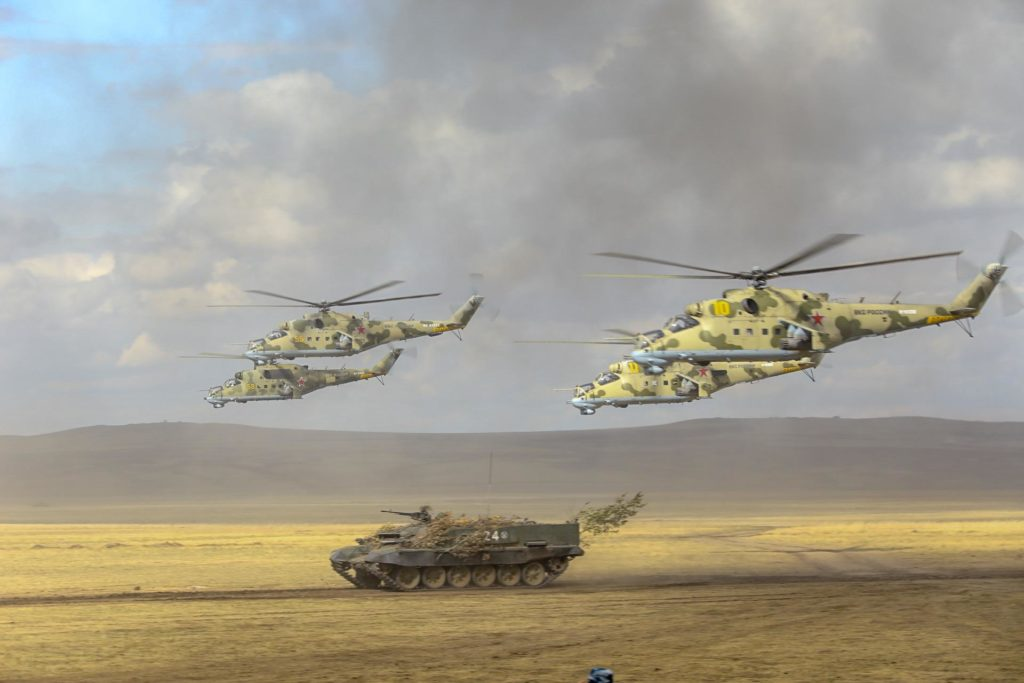 Russia Tests Network-Centric Warfare in Tsentr 2019