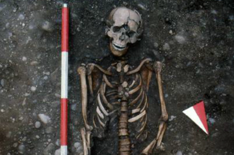 Medieval Skeleton Puts Face on a Barbaric Torture