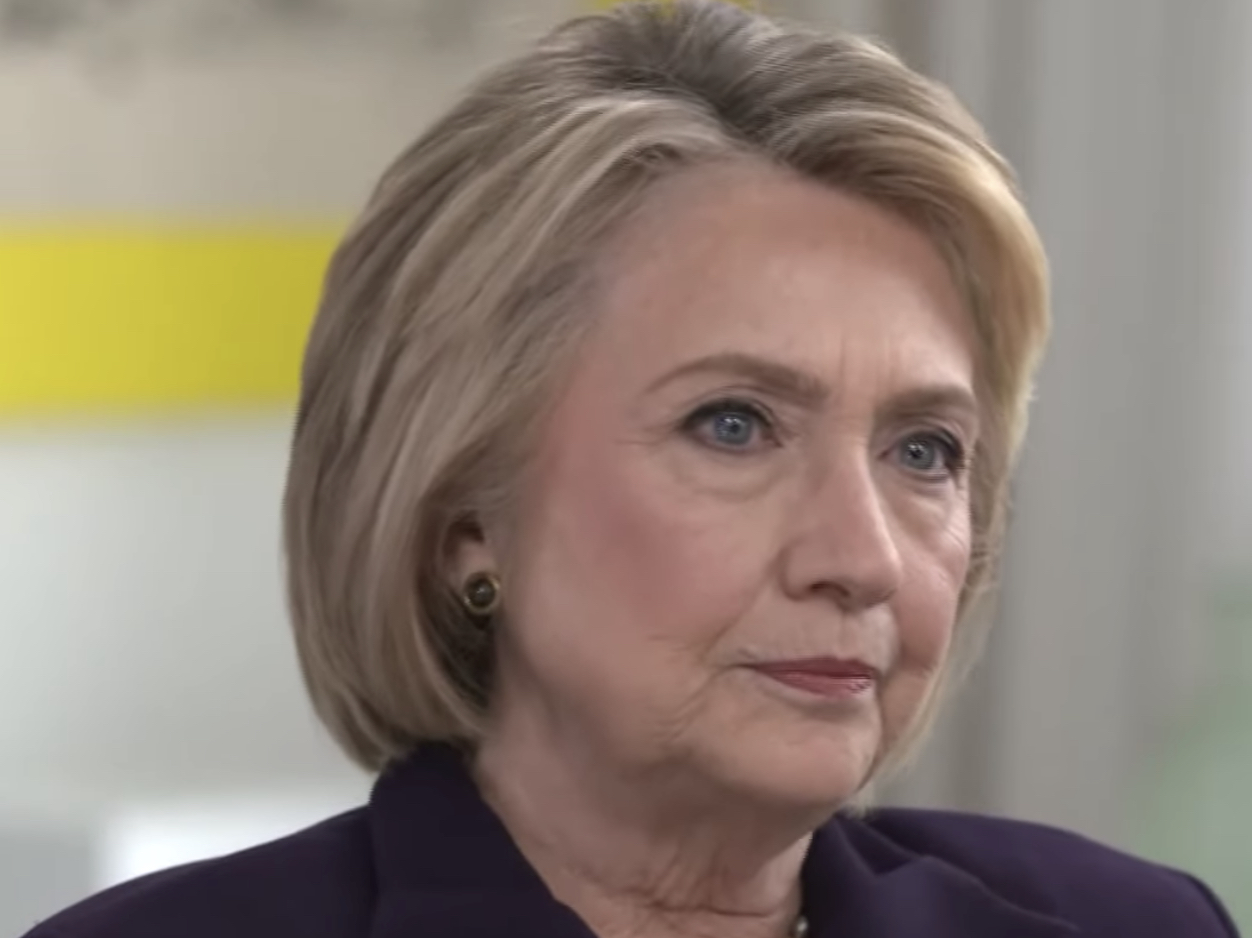 """Hillary Clinton on Trump: """"Maybe There Does Need To Be A Rematch"""" So """"I Can Beat Him Again"""""""