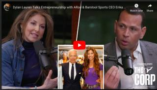 Alex Rodriguez Talks Entrepreneurship