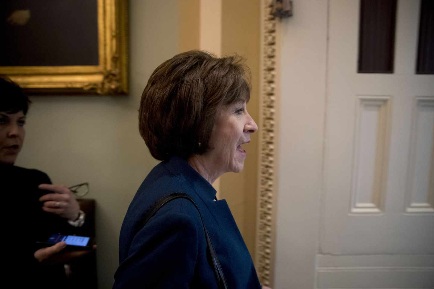 Watchdog Complaint Cites Dark-Money Group Targeting Collins