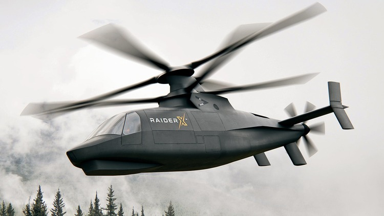 Behold Sikorsky's 'Raider X' Future Armed Recon Helicopter