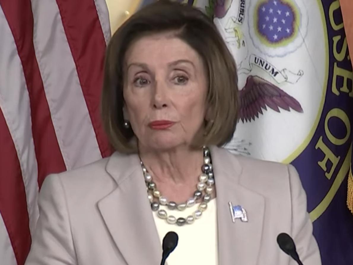 Pelosi Trump Had Meltdown At White House Meeting