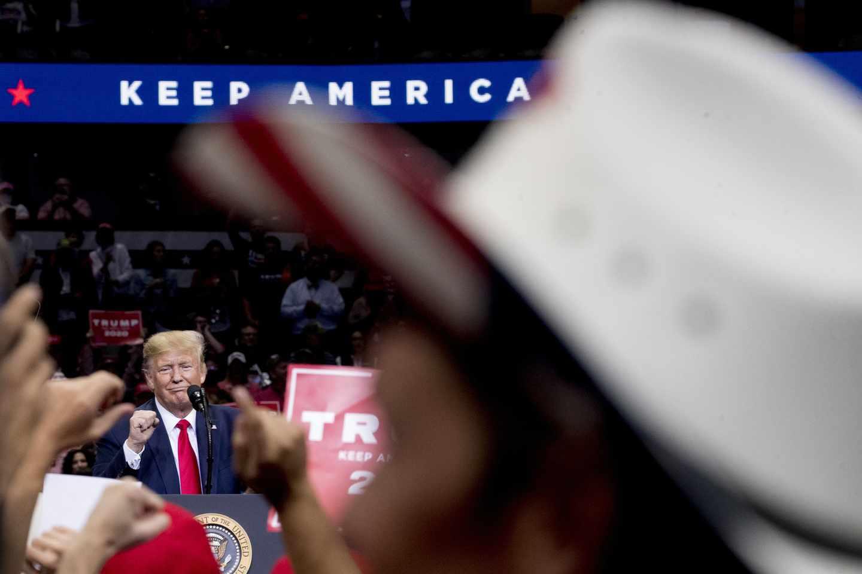 Trump in Dallas: I'm Not Losing Texas