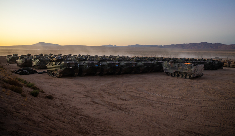 'Unlike Any Exercise': A Massive Marine Corps War Game at 29 Palms