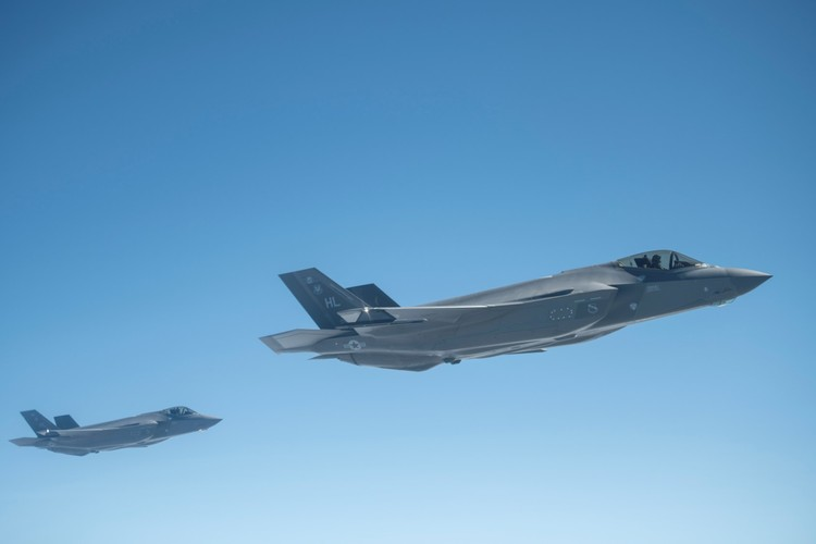 Pentagon Sending More Than 50 F-35s to Europe to Deter Russia