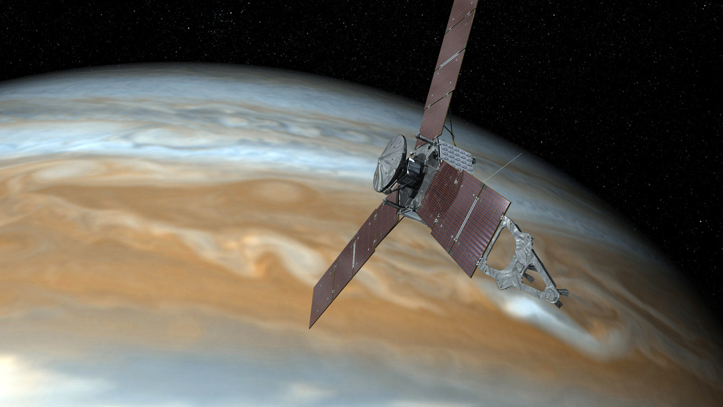 Juno Jumps the Shadow to Avoid Mission Failure