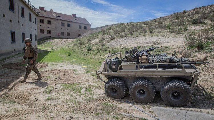 The Robotic Vehicle That Will Carry Equipment for U.S. Troops
