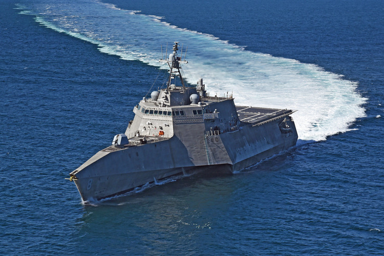 U.S. Navy Sends Two Littoral Combat Ships to South China Sea