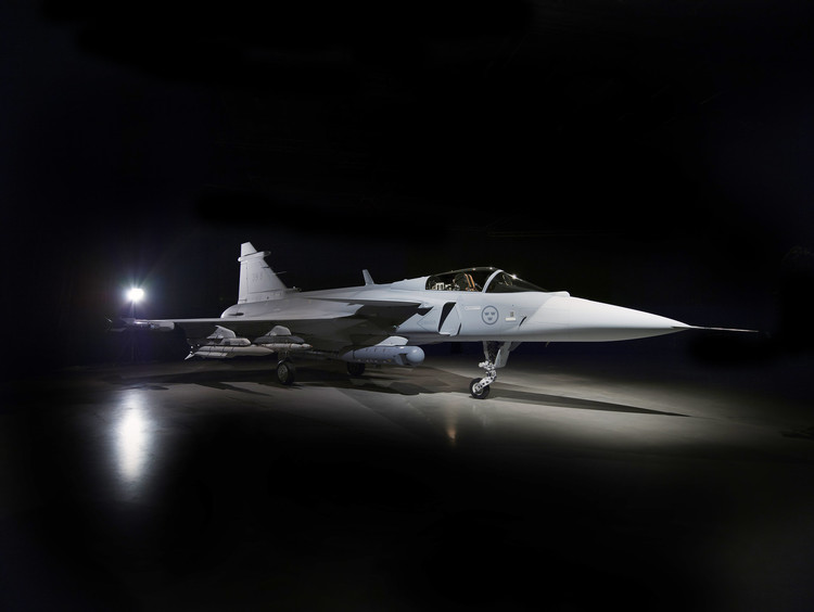 Saab Flies First Series-Production Gripen E for Sweden