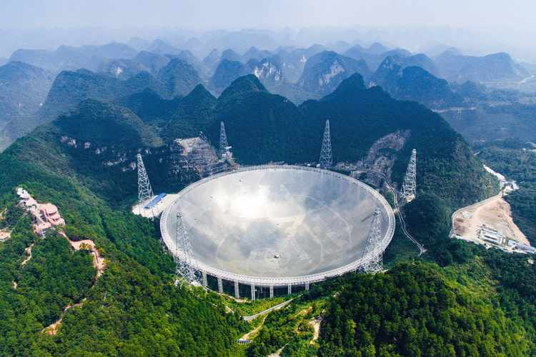 Huge Chinese Telescope Joins Search for Alien Signals