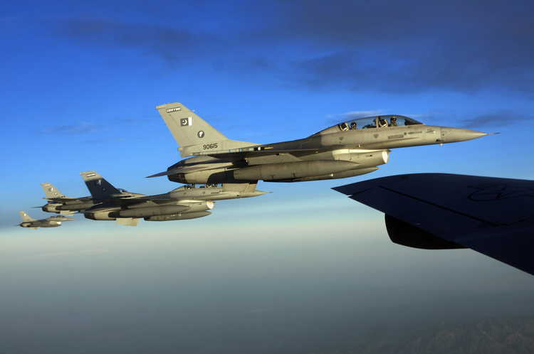 State Department Reprimanded Pakistan for Misusing F-16s
