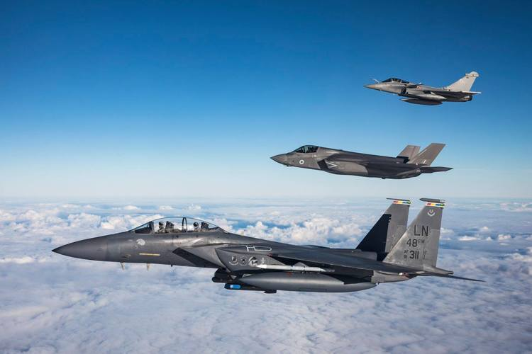 F-15EX and F-35A? Allies Can Expand the Solution Set