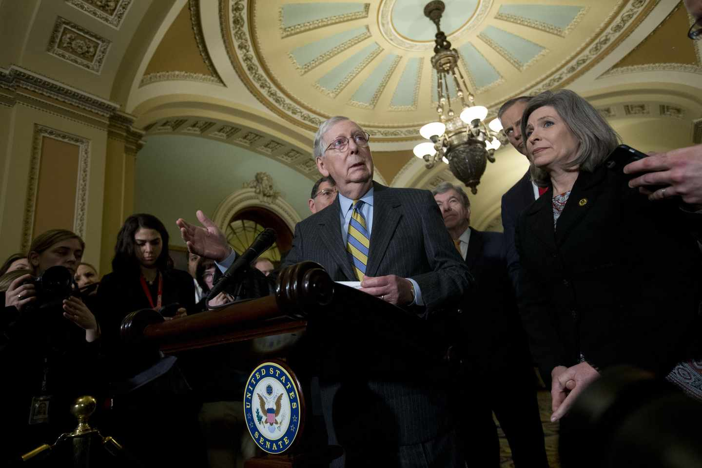 A Malicious Indictment Mitch Should Toss Out