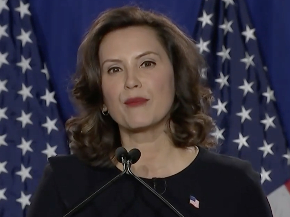 Michigan Gov Gretchen Whitmer Gives Sotu Response Trump Says Economy Is Strong Strong For Whom Video Realclearpolitics