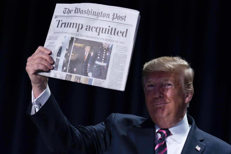 Trump's Post-Impeachment Victory Lap