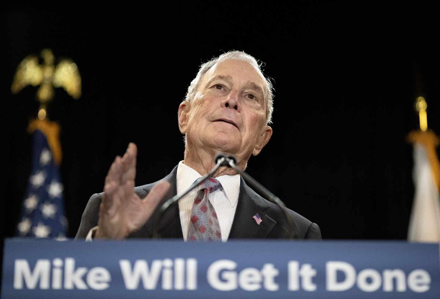 Bloomberg Isn't on N.H. Ballot, But Is on Dem Voters' Minds