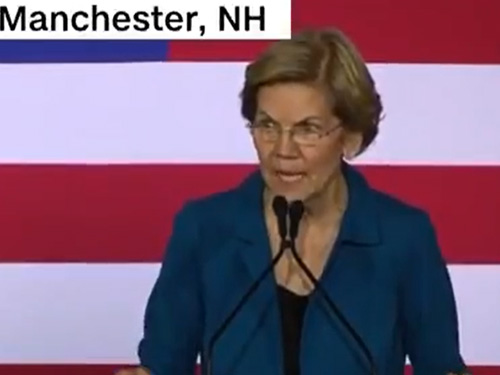 """Warren Warns Democratic Rivals: Don't """"Burn Down The Rest Of The Party In Order To Be The Last Man Standing"""""""