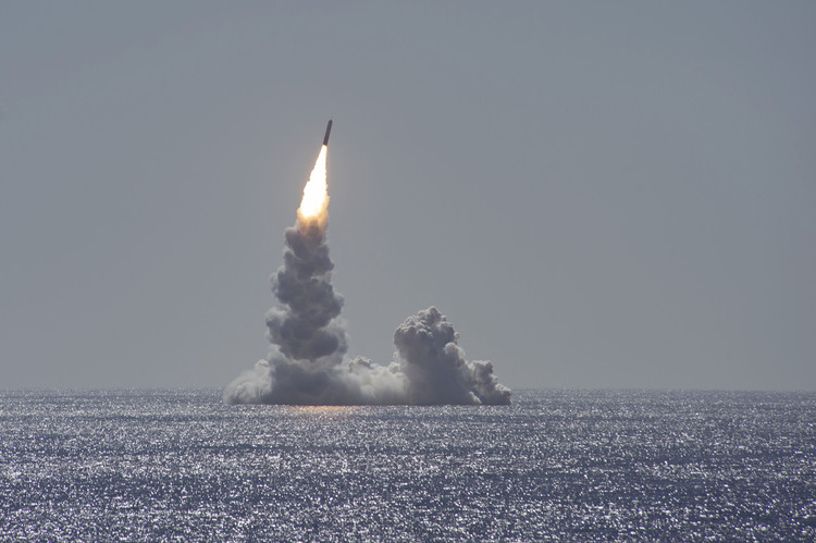 U.S. Navy Ohio-Class Sub Test Launches Ballistic Missile