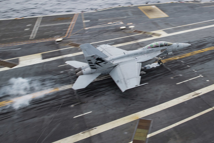 USS Gerald R. Ford's EMALS Cleared for All Aircraft