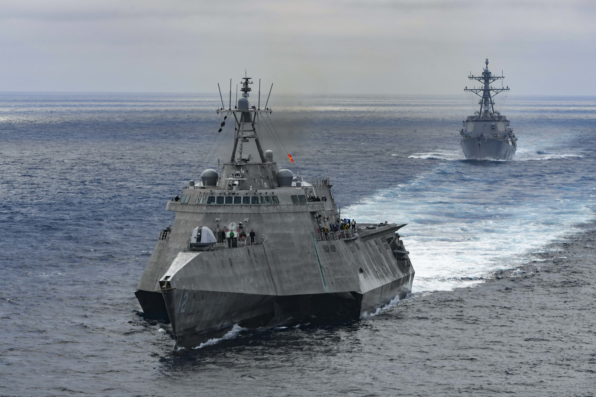 The U.S. Navy's Littoral Combat Ship: A Beautiful Disaster?