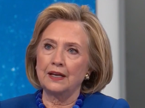 """Hillary Clinton: """"The Right-Wing Echo Chamber Has Mastered Facebook, Aided And Abetted By Facebook"""""""