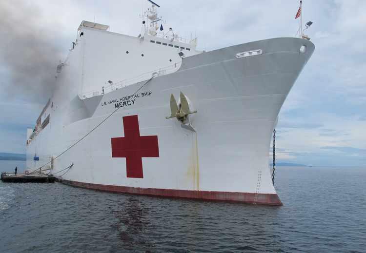 Navy Hospital Ships and the Future of Medicine at Sea