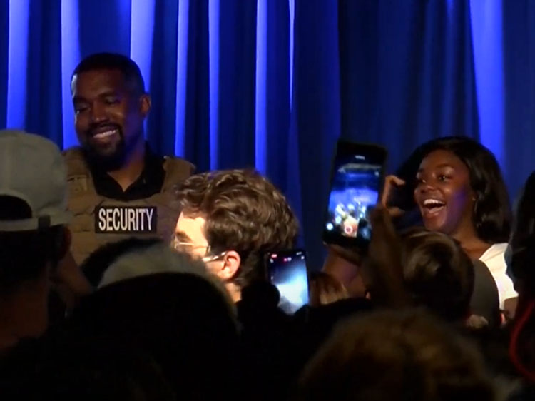 Kanye West S First Campaign Event Everyone Who Has A Baby Should Get 1 Million Video Realclearpolitics