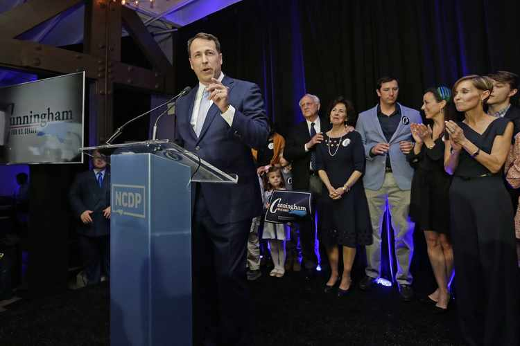 In N.C., Cunningham's Tax Past Includes $39K Home Credit   RealClearPolitics