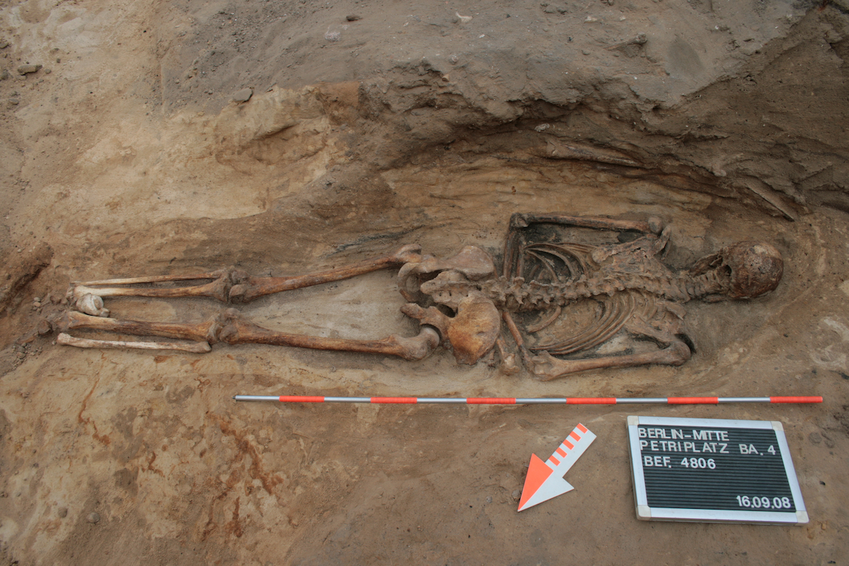 Why Were Some People Buried Face-Down in Medieval Europe?