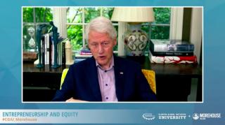 President Clinton & Chelsea Clinton Host Entrepreneurship and Equity