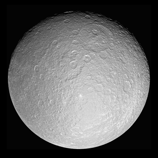 Mysterious Compound on Saturn's Moon Rhea Is Hydrazine