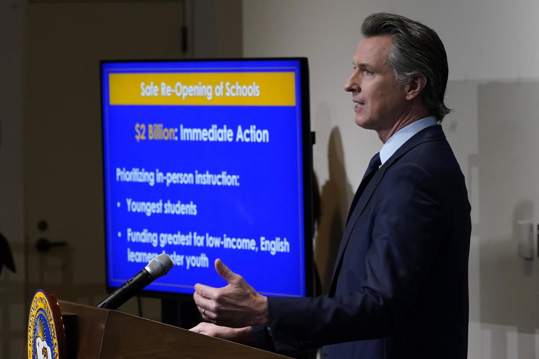 Newsom's School Plan Unlikely to Stall Recall