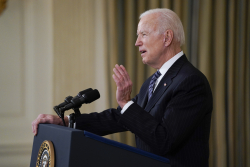 """Biden: """"Until This Vaccine Is Available To The World... We're Not Really Completely Safe"""""""