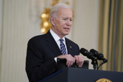 "President Biden On Infrastructure Bill: ""Inaction Is Not An Option"""