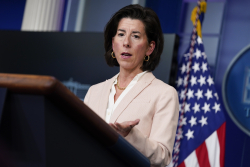 "Raimondo On Proposed 28% Corporate Tax Rate: ""There's Room For Compromise"""