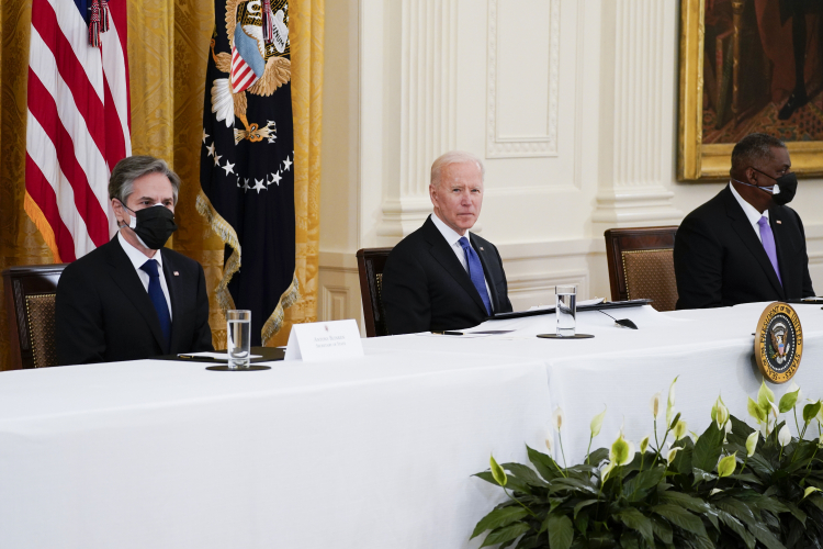 The consulting firm that makes up Biden's management