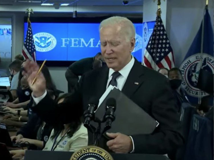 """Biden: """"I am Not Supposed To Take Any Questions"""" On Afghanistan Now 