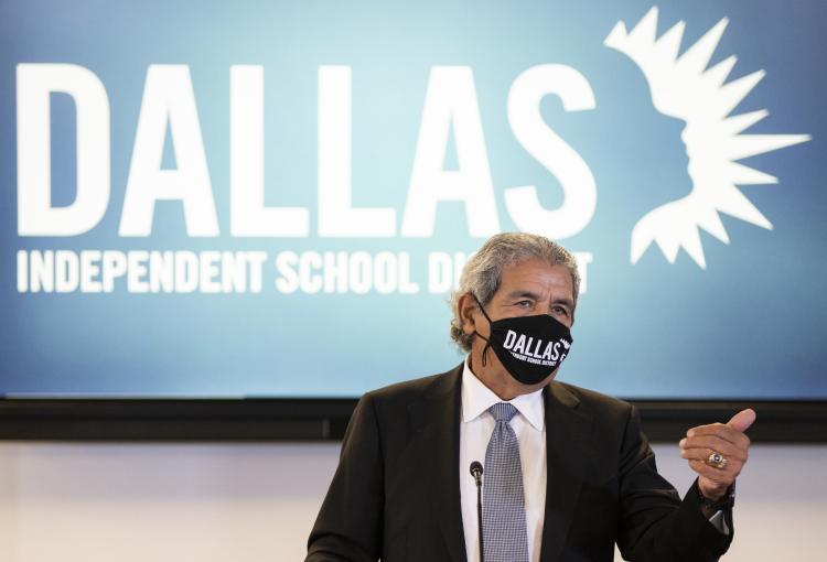 (Brandon Wade/The Dallas Morning News via AP)